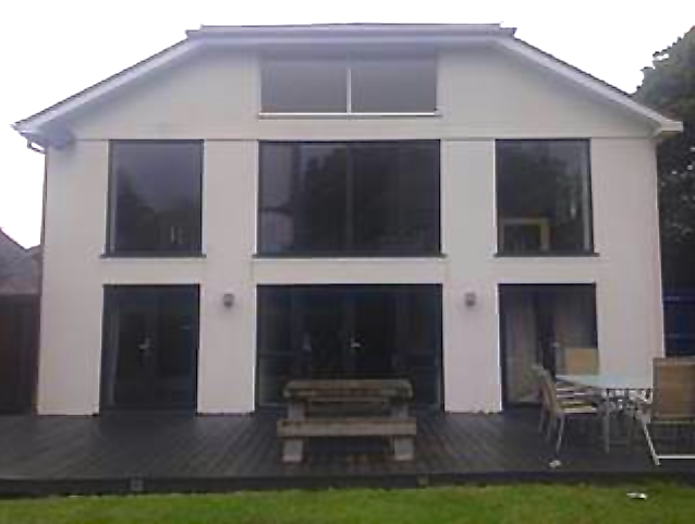view our work rendering insulating exterior walls in sussex